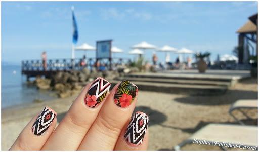 Thumbs Up Nail Wraps Aloha