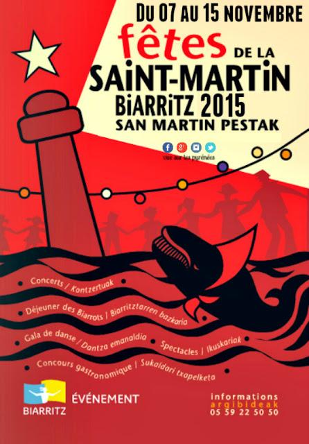 Fêtes de la Saint Martin Biarritz 2015