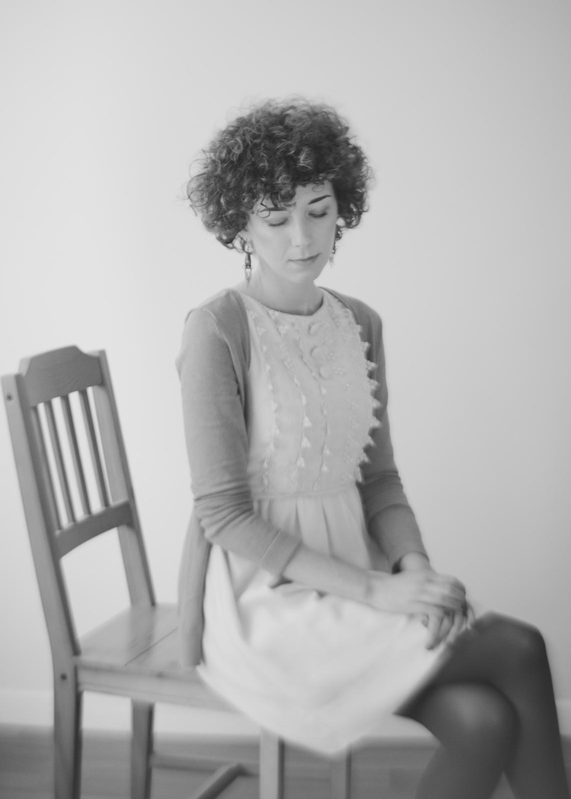 Fotografia portretowa. Podwójny portret na krześle. fot. Łukasz Cyrus, Ruda Śląska