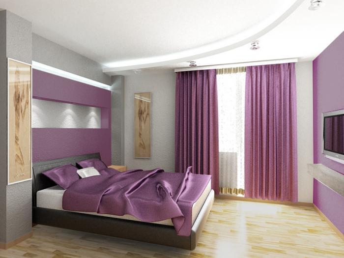 Decoracion En Gris Y Morado ~ Dormitorios morados, violetas y lilas  Dormitorios colores y estilos