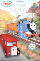 bookcover of The Great Race (Thomas and Friends)