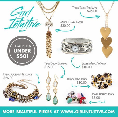 Girl Intuitive - $50 Worth Of Jewelries - Giveaway