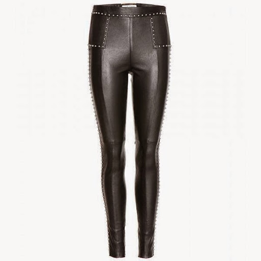 model celana legging wanita Saint Laurent