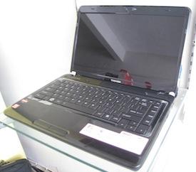 jual laptop gaming 2nd toshiba satellite l740d