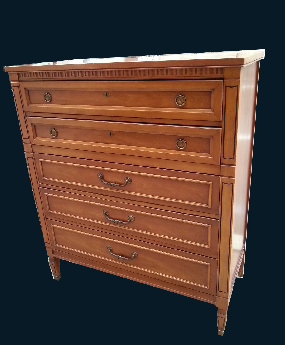 Uhuru Furniture Collectibles Regency Style Chest Of Drawers Sold