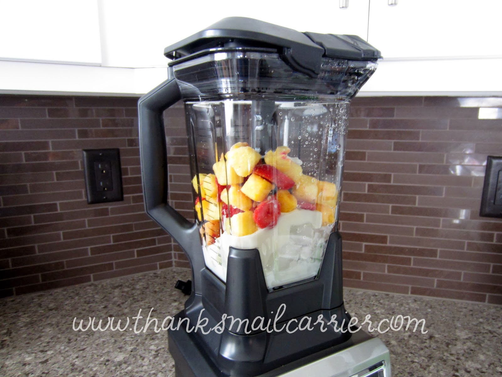 Ninja Ultima blender smoothie