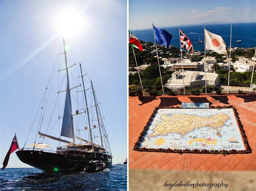 capri sailing photo