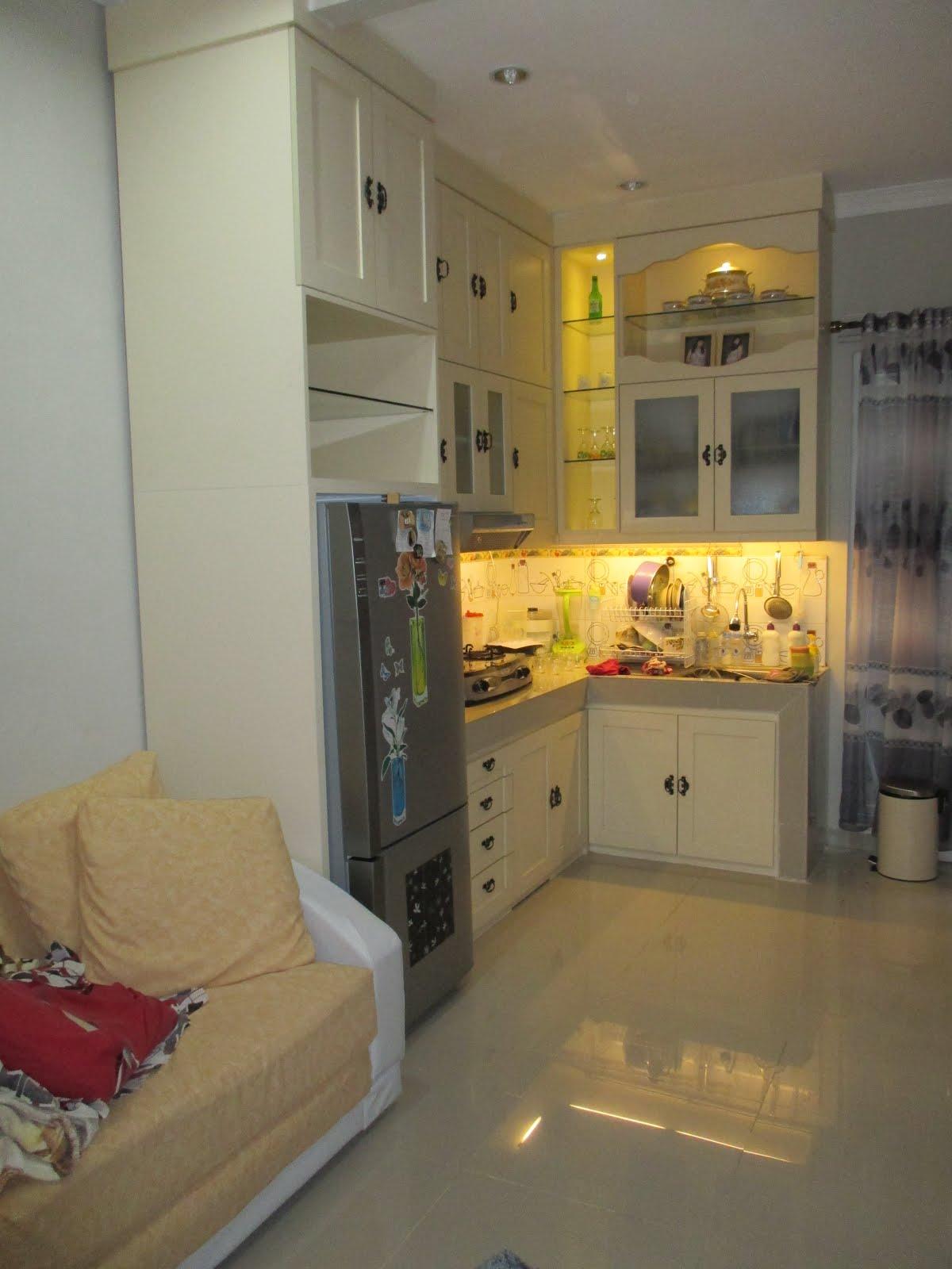 Kitchen set mas Irya Dahuri at Depok