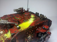 LAND RAIDER BLOOD ANGELS - WARHAMMER 40000 10