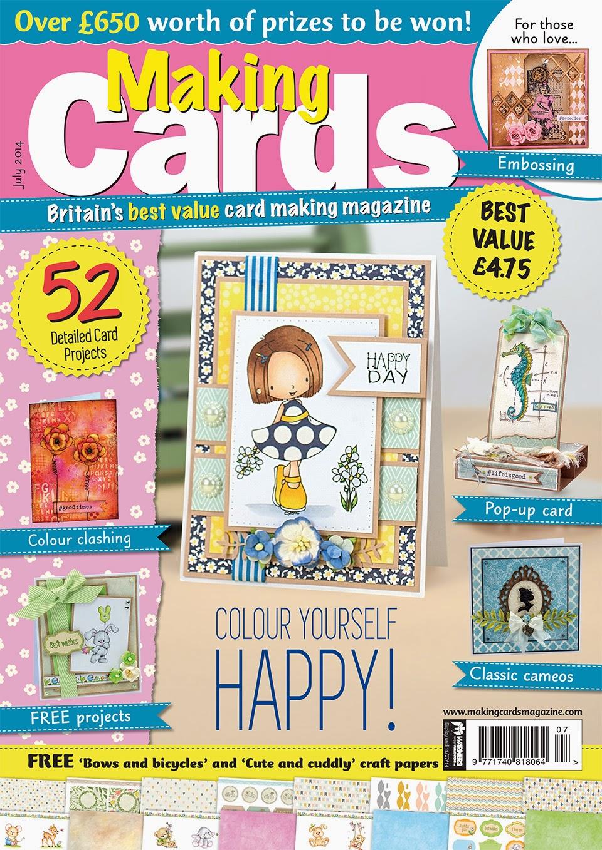 Making Cards Magazine official website link