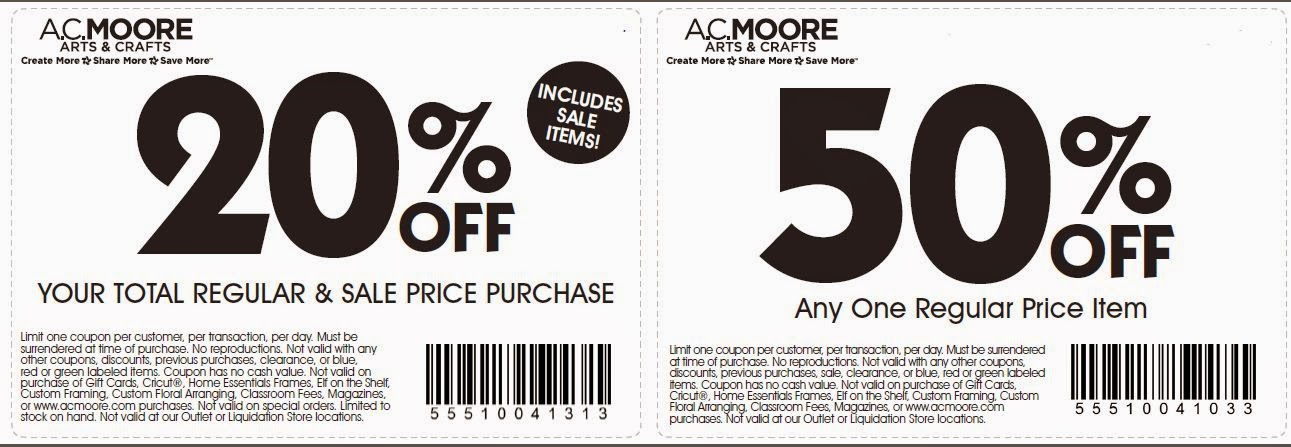 graphic relating to Ac Moore Printable Coupon known as AC Moore Printable Coupon codes Nov 2014