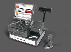 Restaurant merchant processing point of sale interface