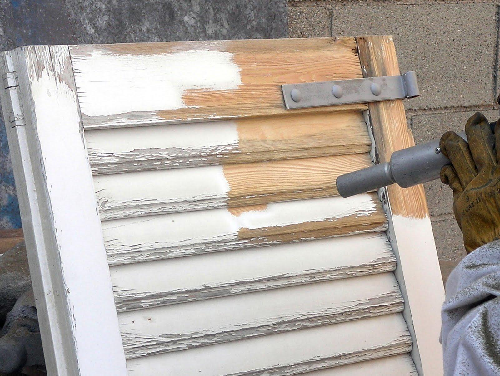 Blog decapado y tratamiento de la madera mediante - Decapado sobre madera ...