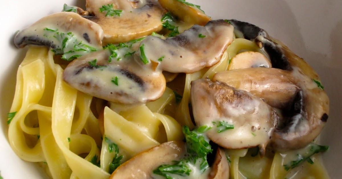 mamacook: 'Creamy' Mushroom Tagliatelle for Toddlers