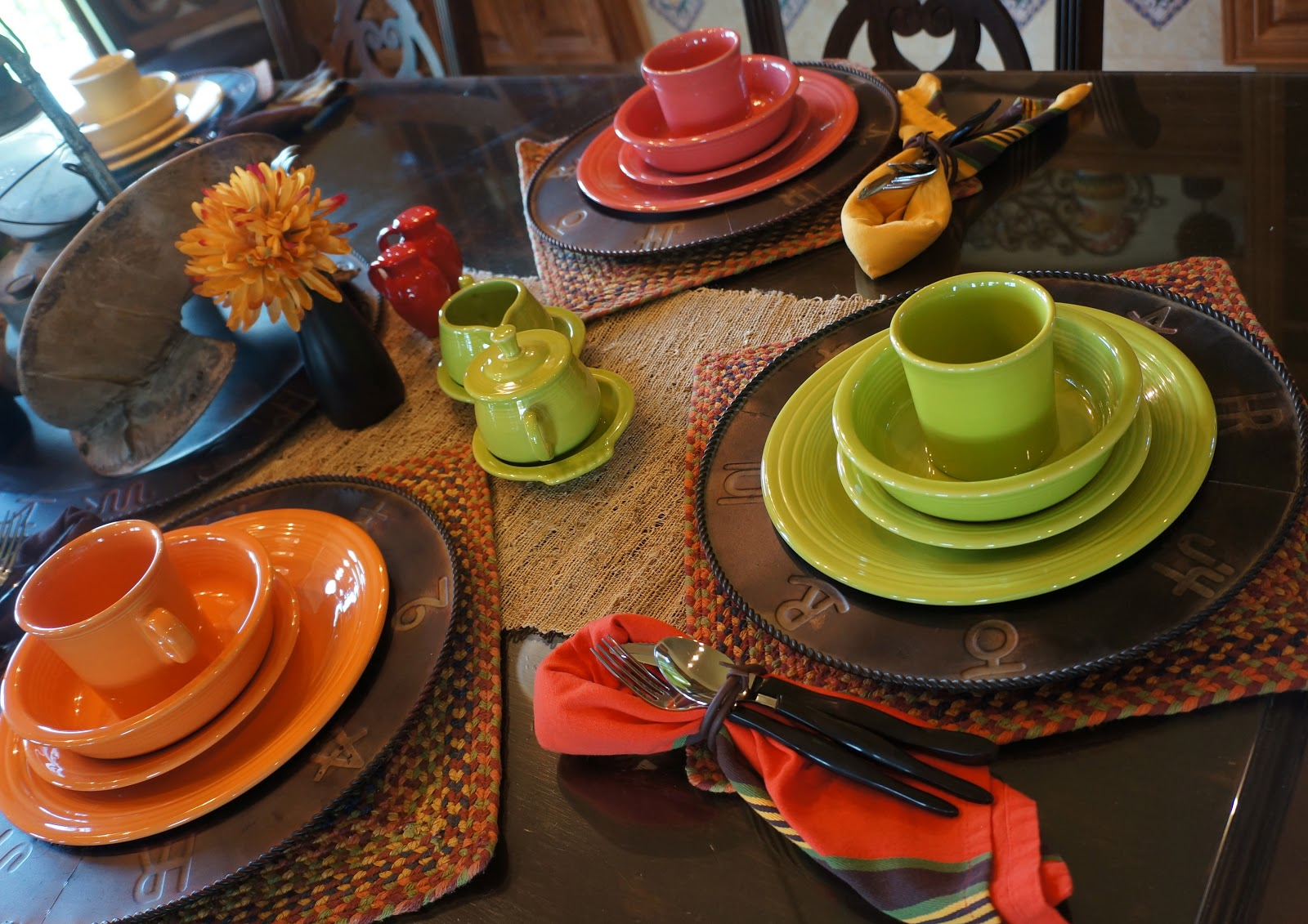 Remarkable Fiestaware Place Settings Gallery - Best Image Engine . : fiestaware table settings - Pezcame.Com