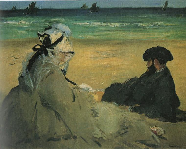 MANET, Édouard, nitidamente antecipando o Impressionismo!