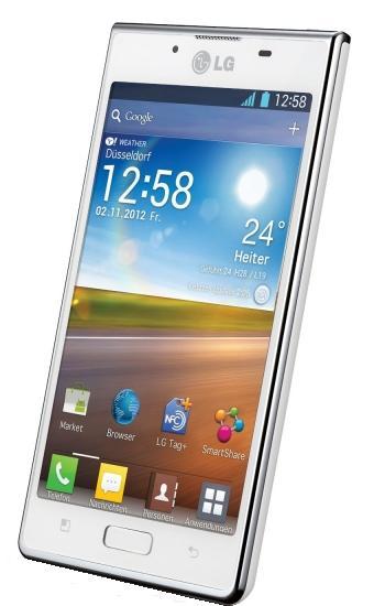 Verizon Prepaid LG Optimus L7 P705 White