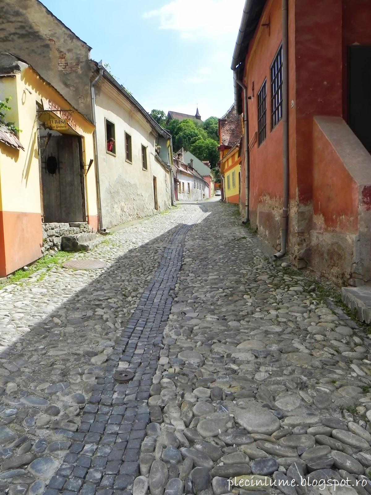 Strada din Sighisoara