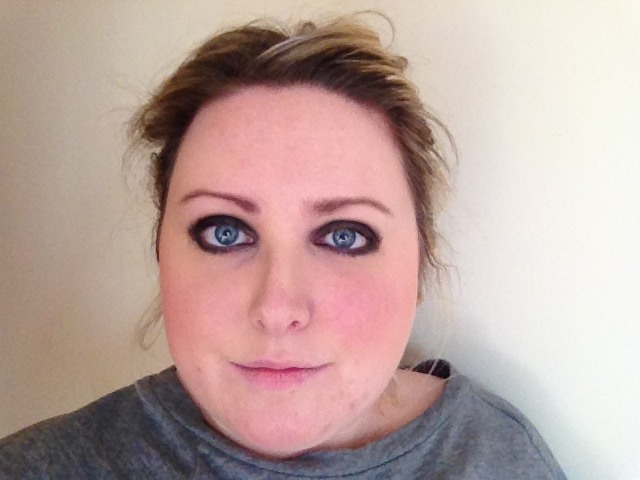 Naked 2 Blackout Eye Makeup Look
