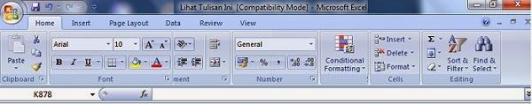 Compatibility Mode Office 97-2003 dan 2007