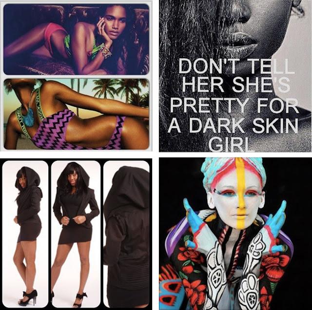 african print swimwear dark skin girls models moyaah black hooded pleated jacket