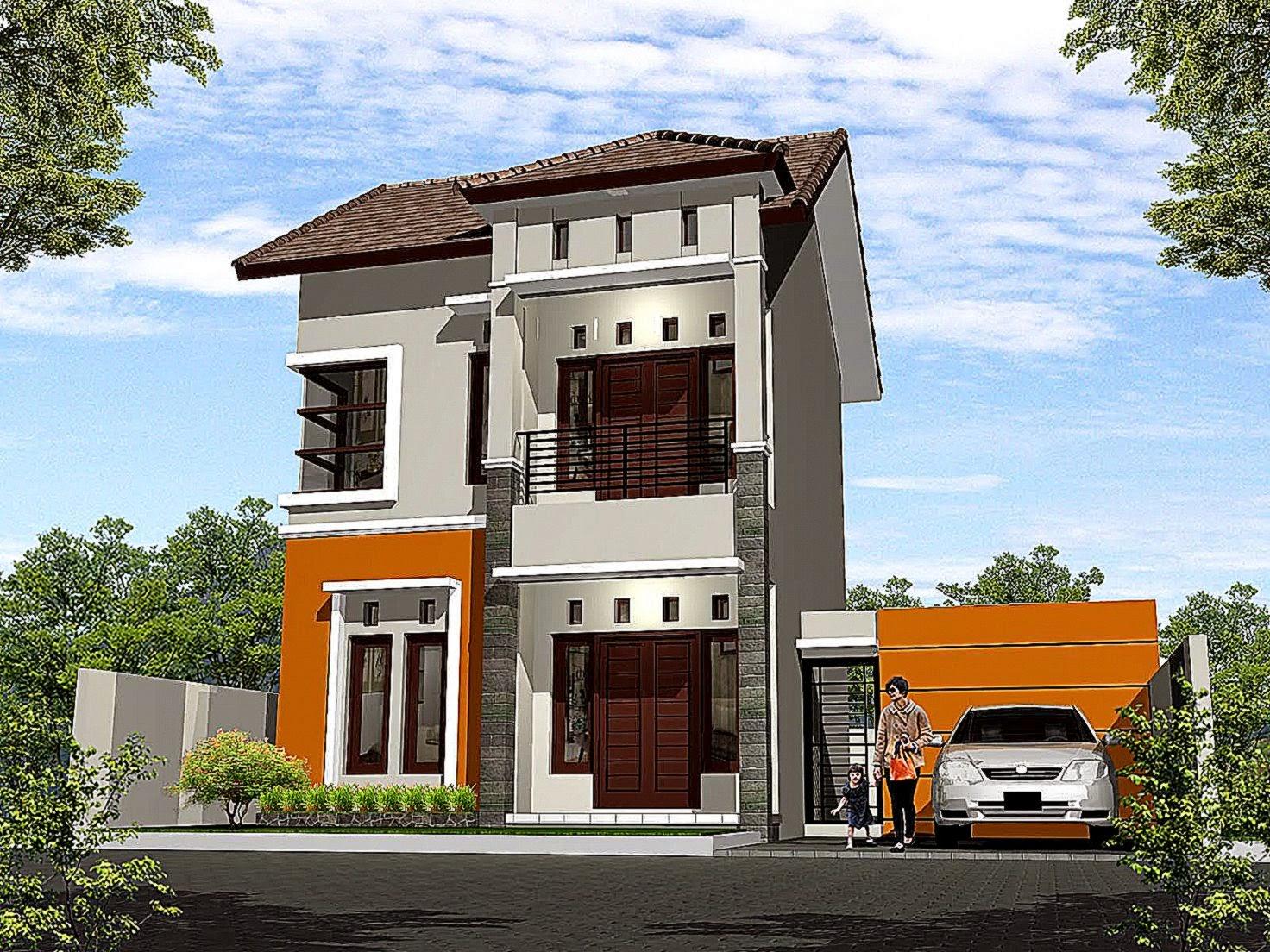 Gambar Denah Rumah 2 Lantai Minimalis  Design Arsitektur 2015