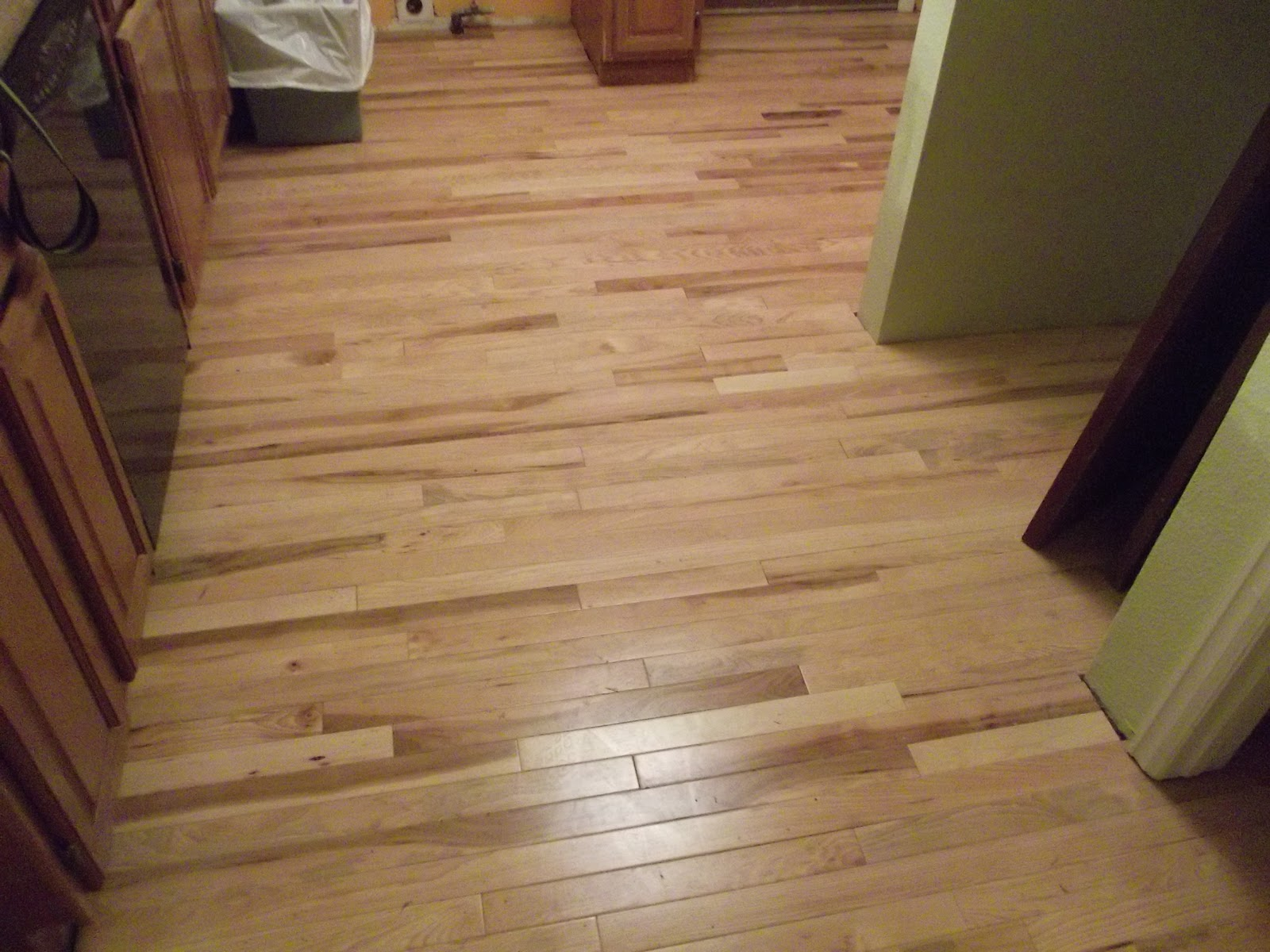 Hickory hardwood flooring sale 2 1 4 prefinished for Real wood flooring sale