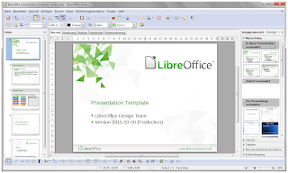 LibreOffice Presentation screen Shot