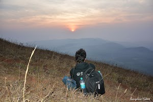 View of sunrise from Mullayanagiri