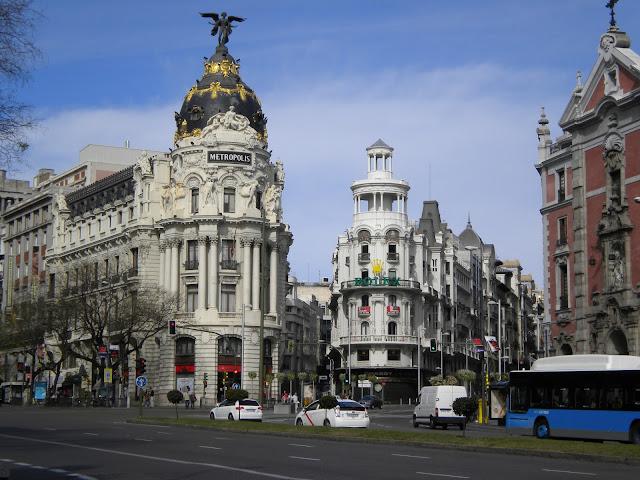 MADRID — Bienvenido a España !!