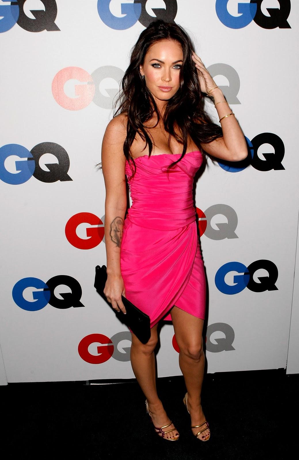 Megan Fox Pink Dress