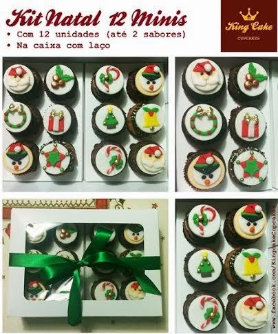 King Cake: Kit de Cupcakes