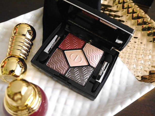 Dior Blazing Gold #886 5 Couleurs State of Gold Eyeshadow Palettes swatch review