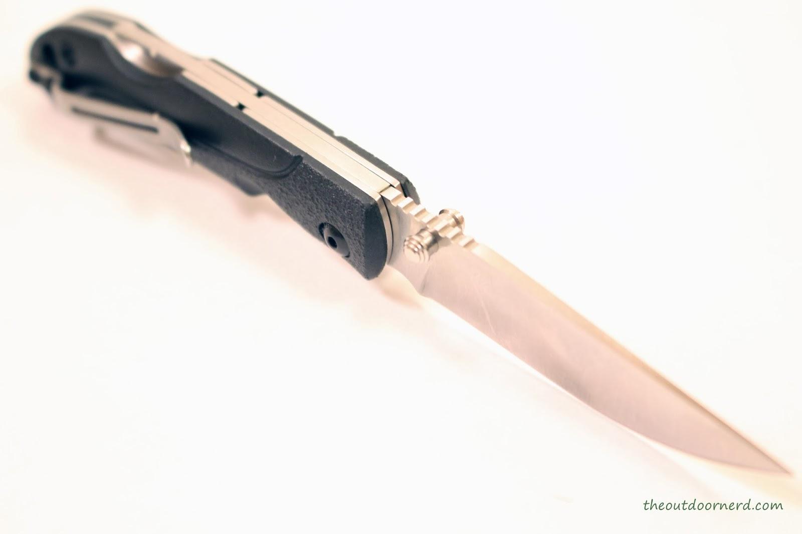 SanRenMu ZB-681 Pocket Knife - Facing Blade