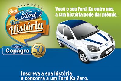 Promoção Copagra 50 anos - Seu Ford tem história!