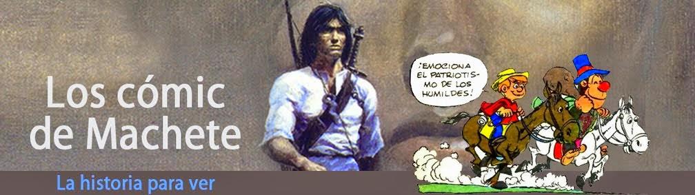 Los comics de Machete