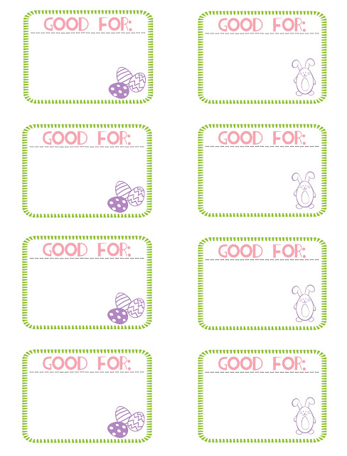 Easter Egg Coupons – Free Printable | Bits Of Everything