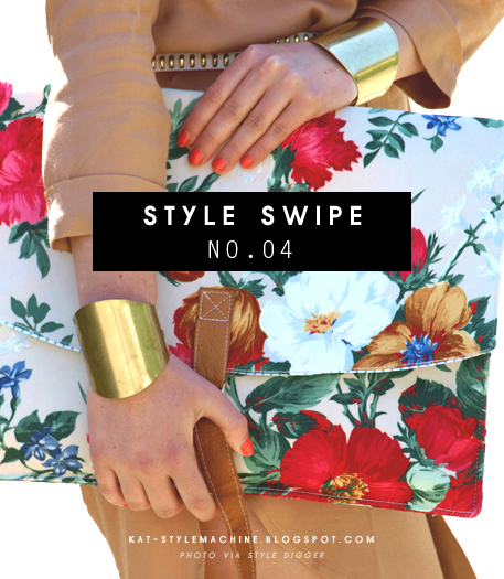 get the look for less: double gold cuffs, luxury and affordable versions