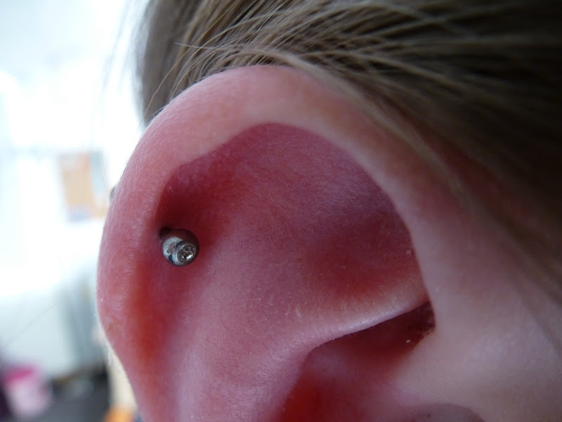 Helix piercing update + tips title=