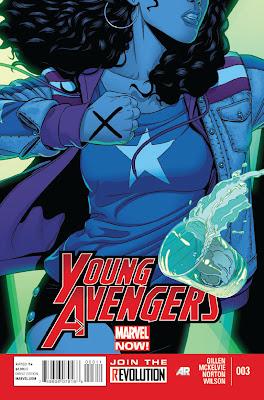 Young Avengers # 3 - Kieron Gillen Jamie McKelvie
