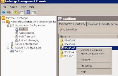 How to Move Database to another Drive on Exchange Server Machine
