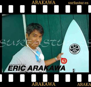 Eric Arakawa Surfboard Shaper