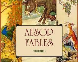 Aesop's Fables Volume 1 - Μύθοι του Αισώπου: Άκουσε και διάβασε!