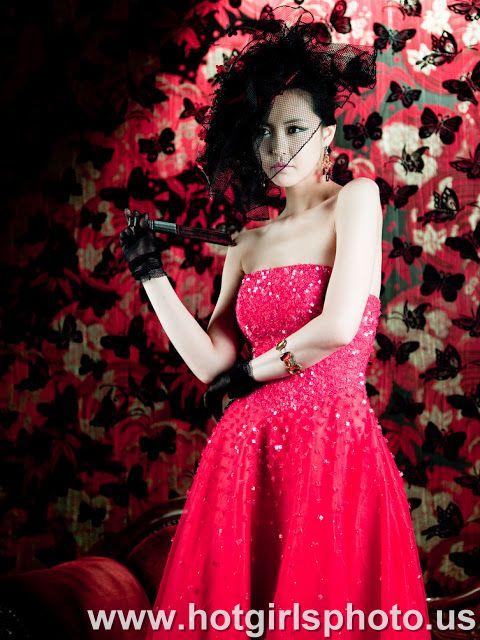 Kang yui - dress red.