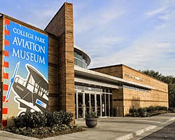 college park aviation museum for birthday fun