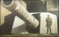 Famous propaganda picture of the German Atlantic Wall