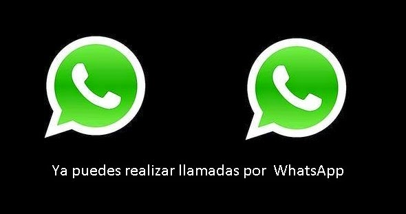 NOTICIA  - WhatsApp ahora permitirá llamadas de voz