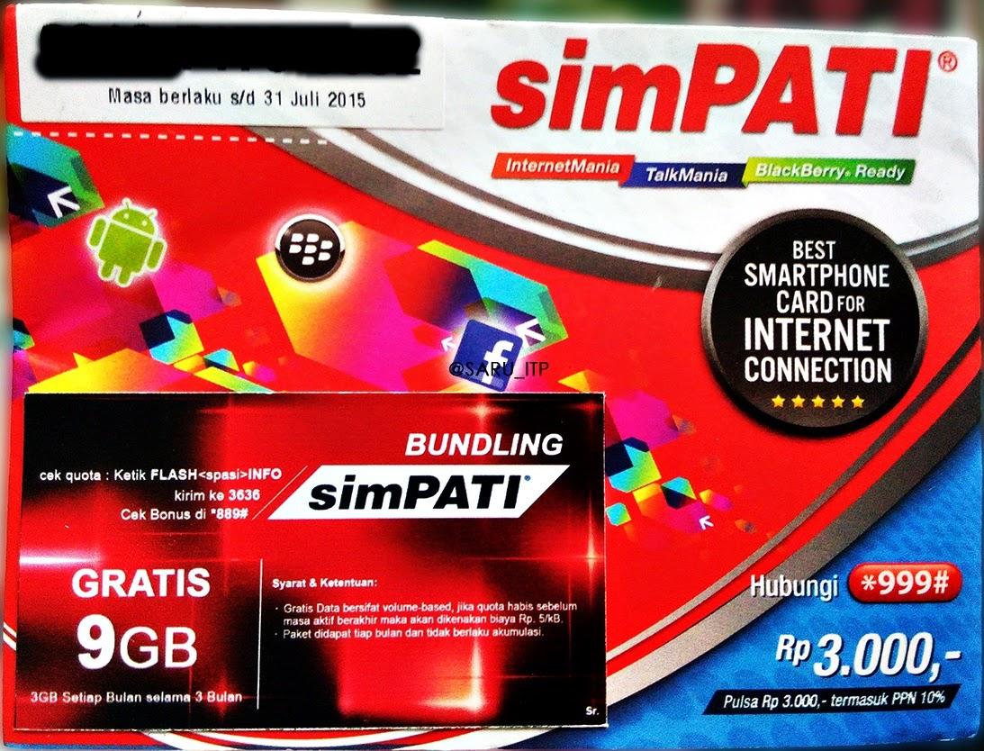 Paket Internet Telkomsel 9 GB