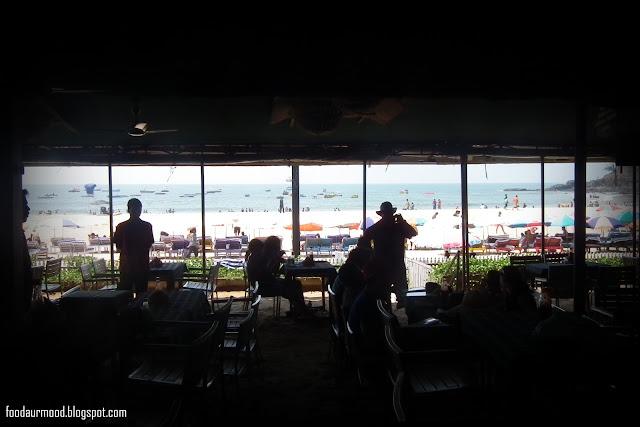 Brittos, baga beach