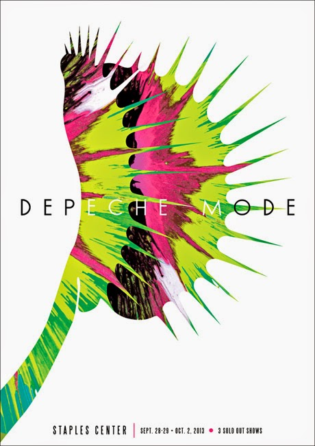 Free Friday Poster Giveaway Featuring Depeche Mode & Kii Arens